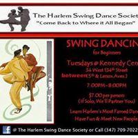Harlems Tuesday Swing Dance Class