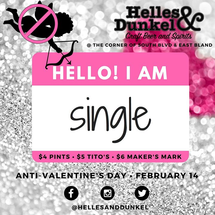 Anti Valentines Day Party At Helles Dunkel Charlotte