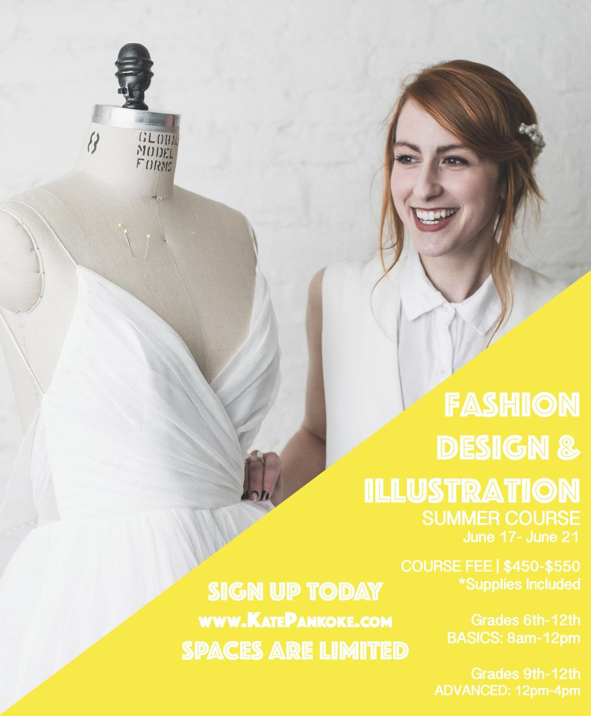 Fashion Design Summer Class taught by Project Runway All Star