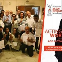 Ages 50 Workshop in Acting