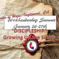 2018 Leadership Summit with Bishop Gideon Thompson