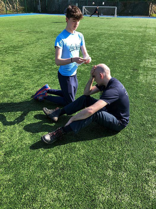 ITC 1 day Sports first aid course