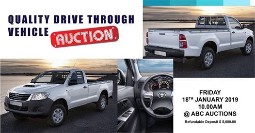 Quality Drive Through Vehicle Auction