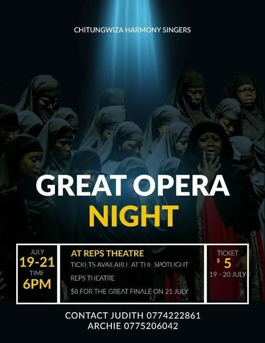 GREAT OPERA NIGHT... with CHITUNGWIZA HARMONY SINGERS