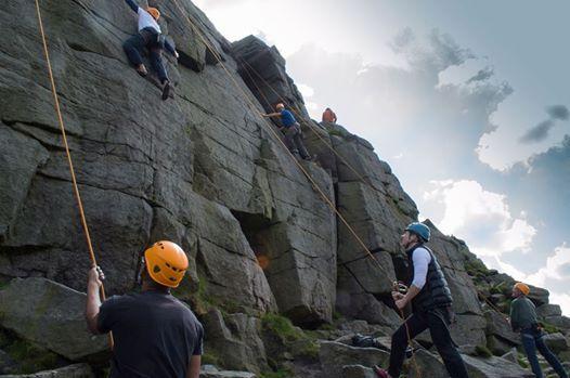 First Steps Outdoor Climbing