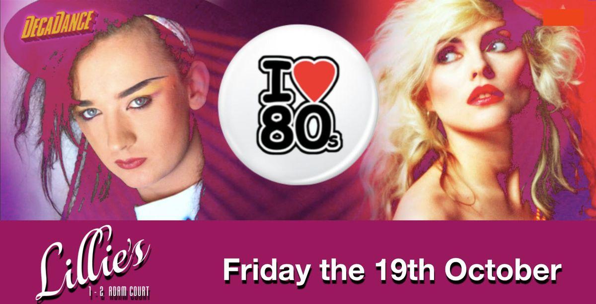 I love the 80s Night Dublin Event