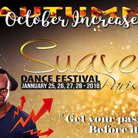 5th Suave Dance Festival Paris promocode secreteam