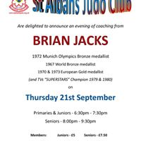 Evening of Training with Brian Jacks