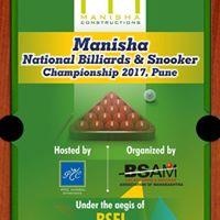 MANISHA National Billiards and Snooker Championship 2017