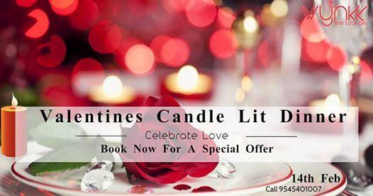 Valentines Candlelit Dinner