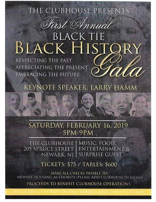 First Annual Black Tie Black History Gala