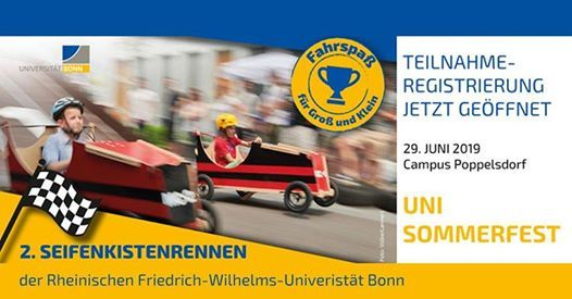 2. Seifenkistenrennen der Universitt Bonn