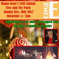 Mama Genes 34th Annual Tree &amp Toy Party