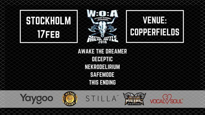 Wacken Metal Battle 2018  Stockholm delfinal