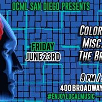 OCML presents ColorTilMonday Misc.Ailments &amp TheBrainGhosts