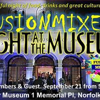 FusionMixer Back to the Night at the Museum - The Fall Mixer