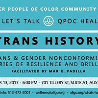 Lets Talk Trans History