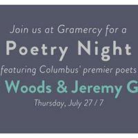 Poetry Night feat. Scott Woods &amp Jeremy Glazier