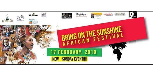 Bring on the Sunshine Festival 2019
