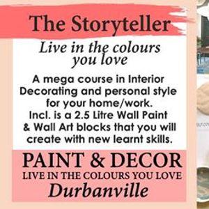 The Storyteller (Paint & Interior Design Workshop)