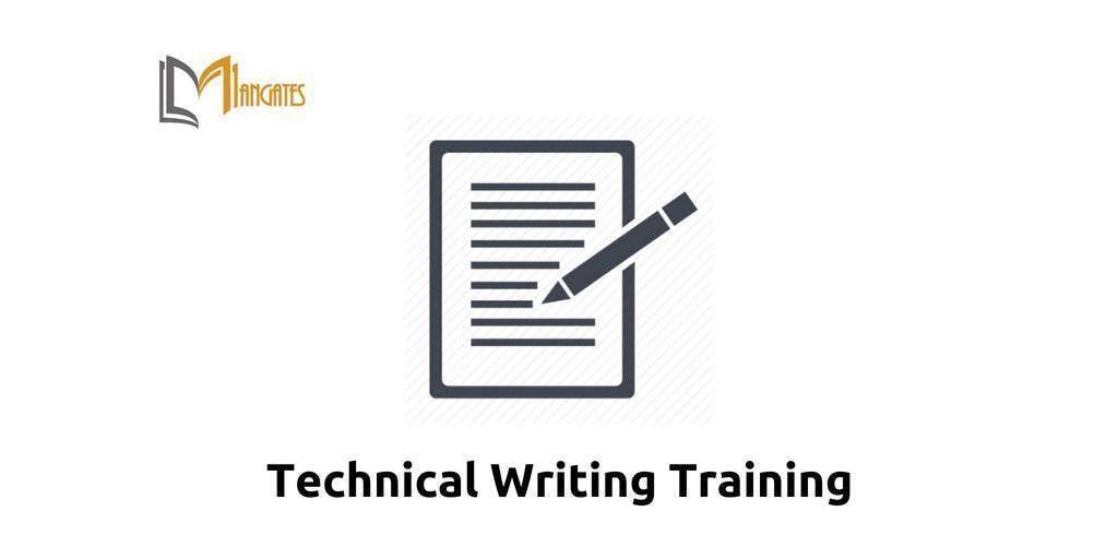 Technical Writing Training Chicago IL Mar 25th-28th 2019