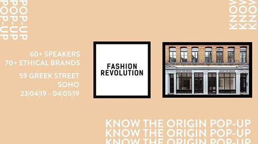 Fashion Revolution Events & Shopping Soho Popup