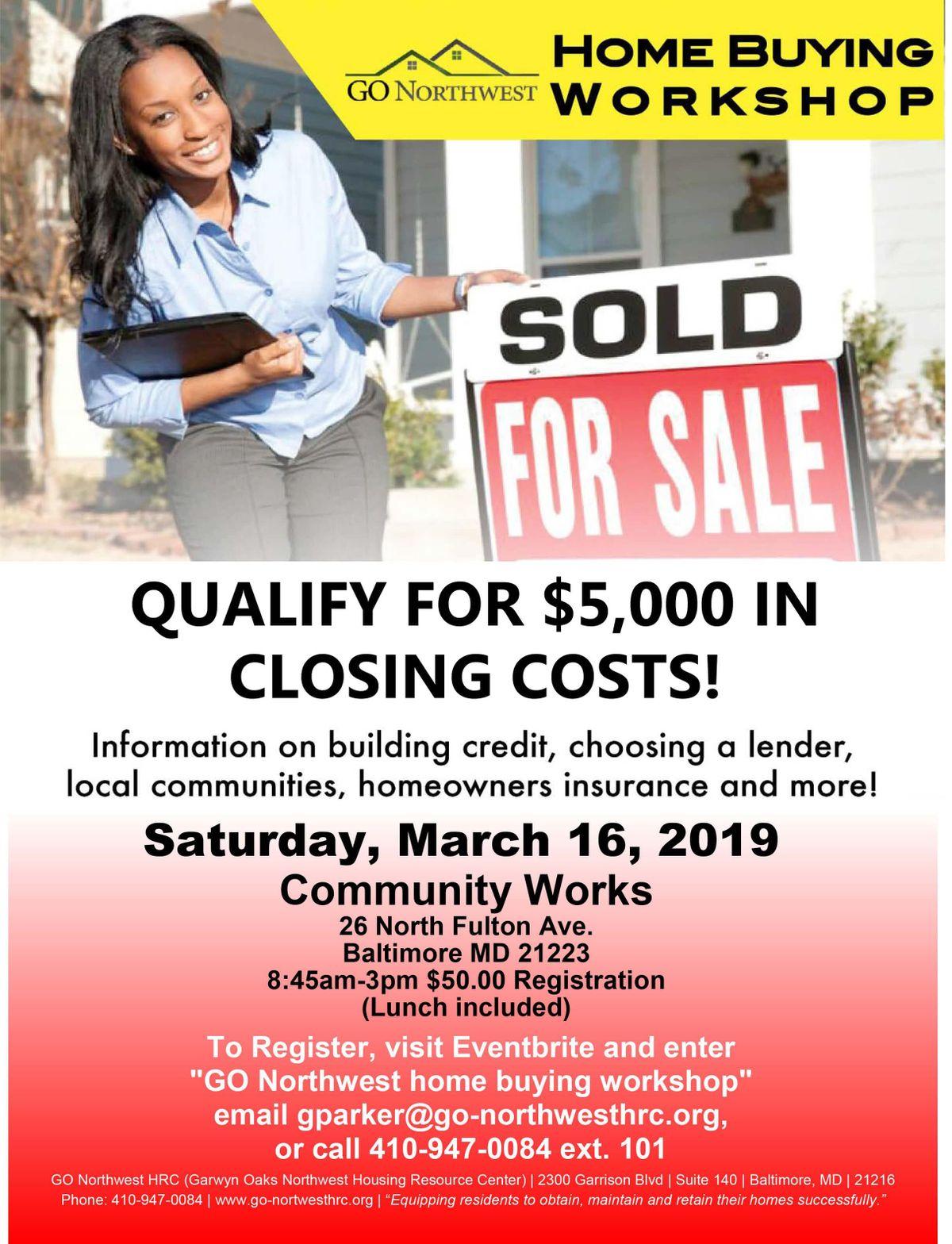 GO Northwest March Home Buying Workshop
