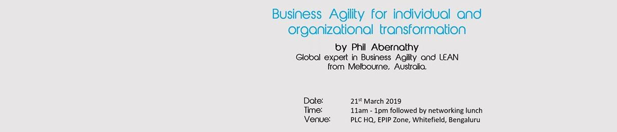 Executive Discussion on Business Agility
