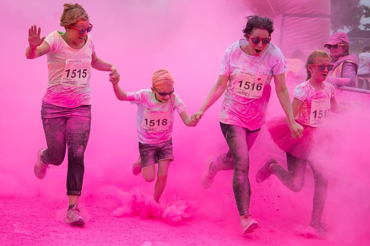 Inflatable Colour Dash 2018