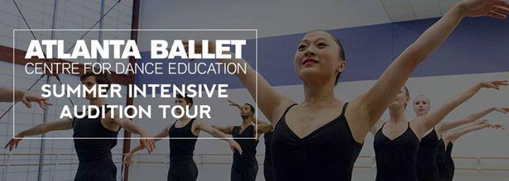 Atlanta Ballet Summer Audition Tour