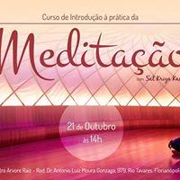 Curso de Meditao em Florianpolis