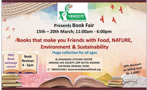 Book Fair on Environment Food and Sustainability