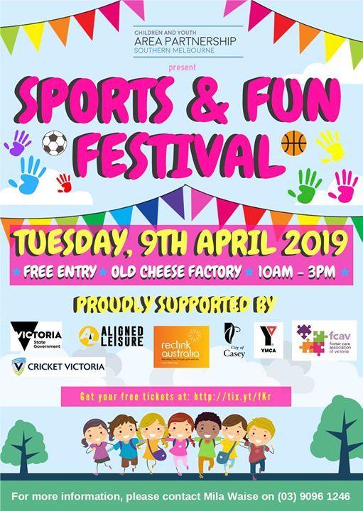 Sports & Fun Festival  Free Event for Children in Care