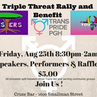 Triple Threat Trans Community Rally And Benefit