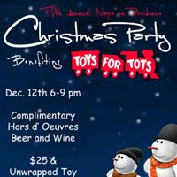 5th Annual Toys For Tots Party at Napa on Providence