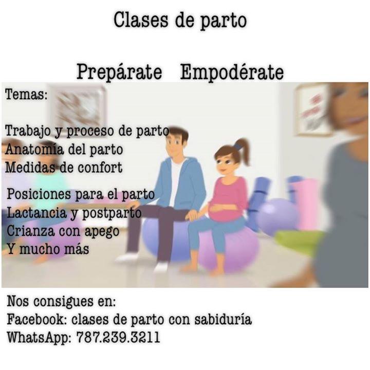Clases de preparación al parto at Cidra, Puerto Rico, Cidra