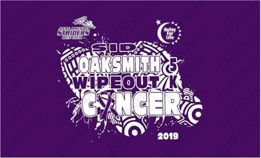 2019 Sid Oaksmith Wipeout Cancer 5K & 1mile Run