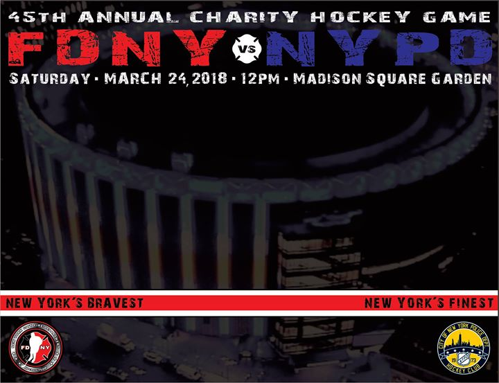 45th Annual FDNY- NYPD Hockey Game