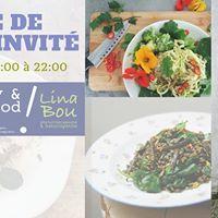 Samedi Soir Table de Chef Vg. Happy &amp Healthy par Lina Bou