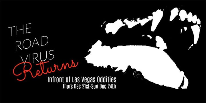 The Road Virus Returns - Get Your Book On at Las Vegas