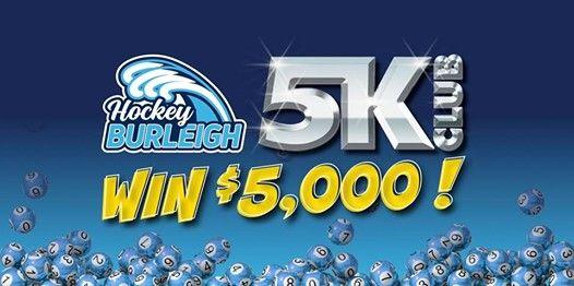 Hockey Burleigh 5K Club - WIN $5000   Gold Coast