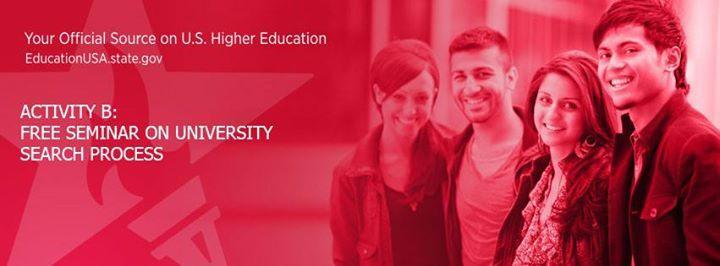 Activity B University Search Process