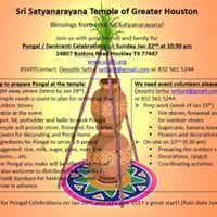 2017 Pongal  Sankranti Celebrations
