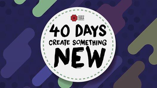 40 Days Create Something New