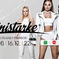 Ministarke na Disco Planet Maribor  sobota 16.12.17