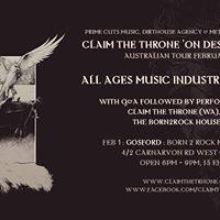 Claim The Throne (WA) AAges Music WorkshopReliqa &amp House band