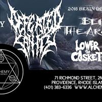 Defeated Sanity Behold The Arctopus Lower The Casket Garroted