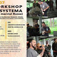 Workshop de Systema (Arte Marcial Russa)