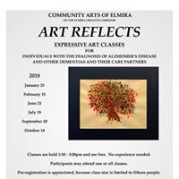 Art Reflects Classes for Those with the Diagnosis of Alzheimers