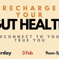 Recharge Your Gut Health Sydney Event Feb 3 2018